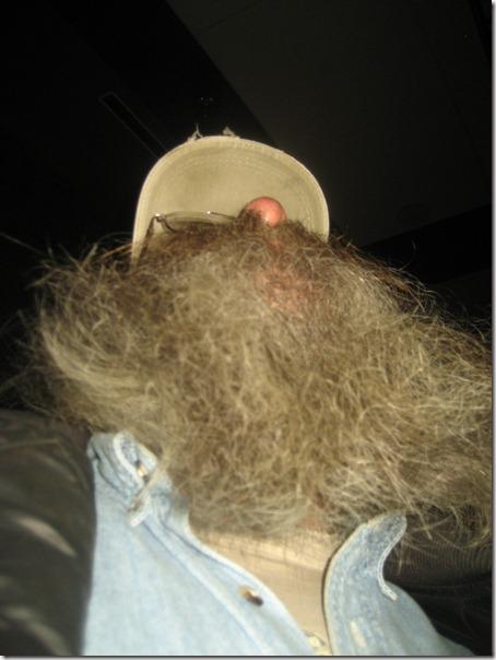this beard goes way below