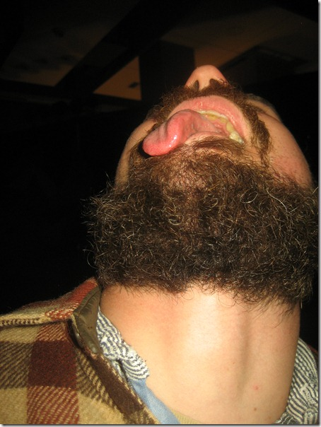 tongue beard